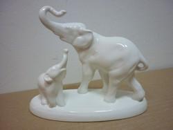 Gránit elefánt család