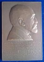 Reményi József: Arnstein Henrik plakett 1910