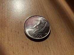 1987 San Marino ezüst 1000 líra 14,6 gramm 0,835 Ritka