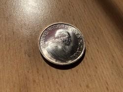 Vatikáni ezüst 1000 líra 14,6 gramm 0,835 Ritka