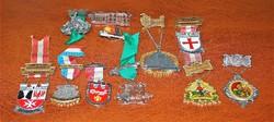 Város címerek ( német )