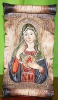 Fali dísz ( Jézus és Mária Magdolna )