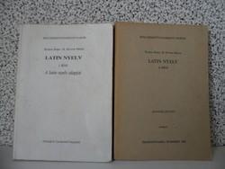 Komor Ilona- B. Révész Mária: Latin nyelv I-II Bölcsészettudományi Karok