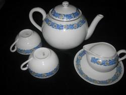 Zsolnay antik  teás , ami maradt  belőle