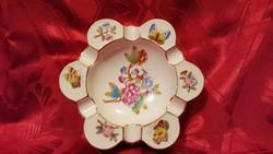 Herendi Viktória mintás porcelán hamutartó