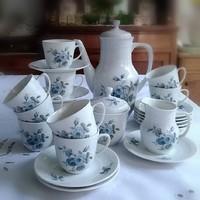 Porcelán kávéskészlet 10 főre