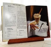 Masszív fa asztali könyvtámasz