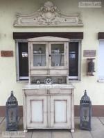 Provence bútor, antikolt tálaló szekrény 04.