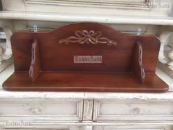 Antik bútor, Szecessziós fali polc.