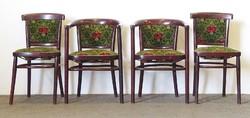 0N825 Régi jelzett debreceni Thonet szék garnitúra
