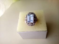 Antik ezüst gyűrű.