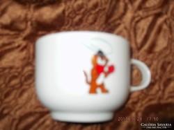 Cica jelenetes csésze gyerek  Alföldi