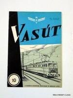 1964 október -  /  VASÚT  /  RÉGI EREDETI MAGYAR ÚJSÁG Szs.:  3883