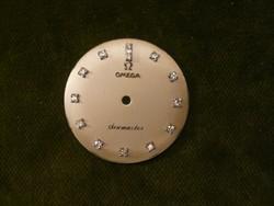 Omega Seamaster brilles számlap