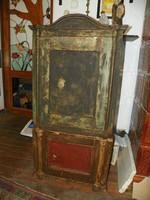 Antik öntötvas páncélszekrény- Schnabel Frigyes páncélszekrény gyár