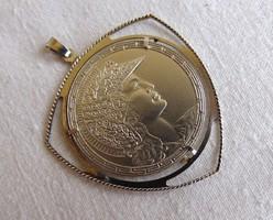 Különleges ezüst medál No.7