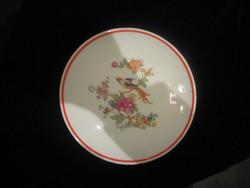 Zsolnay ,paradicsom madaras  ,fali tányér  200 mm