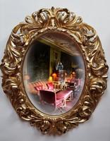 Antik florentin tükör