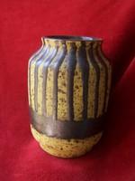 Retro iparművészeti váza- jelzett