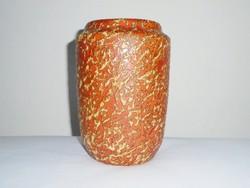 Retro iparművész iparművészeti kerámia váza