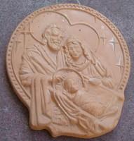 Szent Család - Fali Kerámia