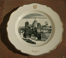 Villeroy & Boch Boch Dresden - Alte Wasserkunst falitányér