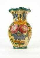 0Q492 Jelzett Olasz Graffito Edipinto kerámia váza