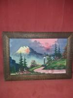 Akvarell, 34x22, keretben