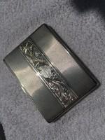 Antik Ezüst Cigarettatárca. 900- as ezüst.
