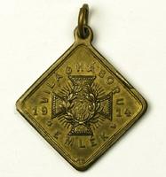 I. Világháború Emlék 1914 medál, függő