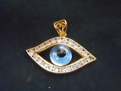 Arany medál.A mindent látó szem.21 karát.Számla,garancia.4,18 gramm.