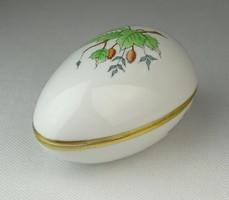 0Q579 Hecsedlis Herendi porcelán bonbonier