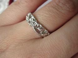 925 jelzett rózsagyűrű