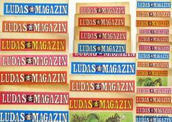 1975 május -  /  LUDAS MAGAZIN  /  SZÜLETÉSNAPRA RÉGI EREDETI ÚJSÁG Szs.:  4361