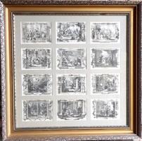 Michael Heinrich Rentz (1698-1759): Barokk metszetgyűjtemény, 18. sz