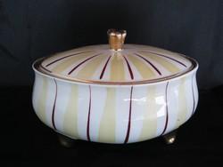 Budapesti porcelán art deco bonbonier