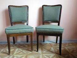 Neobarokk támlás szék  párban