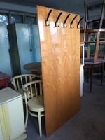 Retro előszobafal előszoba fogas magasfényű bútor