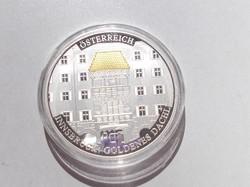1000 éves Ausztria Innsbruck érme