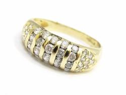 Arany köves gyűrű (Kecs-Au65525)