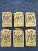 Régi Tiszai Cigarettadohány 50g-os, 1950-1960as évekből