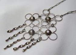 Egyedi, iparművész ezüst colier - Extra különleges ékszer