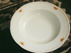 Zsolnay mély tányér 23 cm