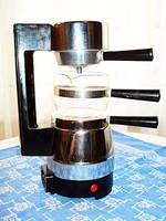 Espresso elektromos kávéfőző, jénai kiöntővel