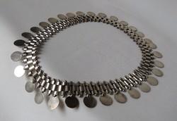 AKCIÓ!!! Gyönyörű ezüst colier - súlyos, 51,7 gr