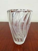 Kristály üveg váza