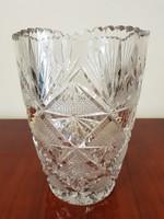 Kristály üveg váza nagy méretű