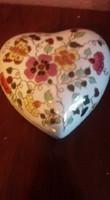 Zsolnay lepkés nagyméretű porcelán