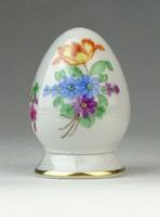 0Q593 Virág mintás Herendi porcelán sószóró