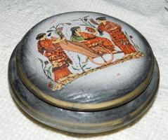 Görög  mitológiai jelenetes bonbonier - cukortartó